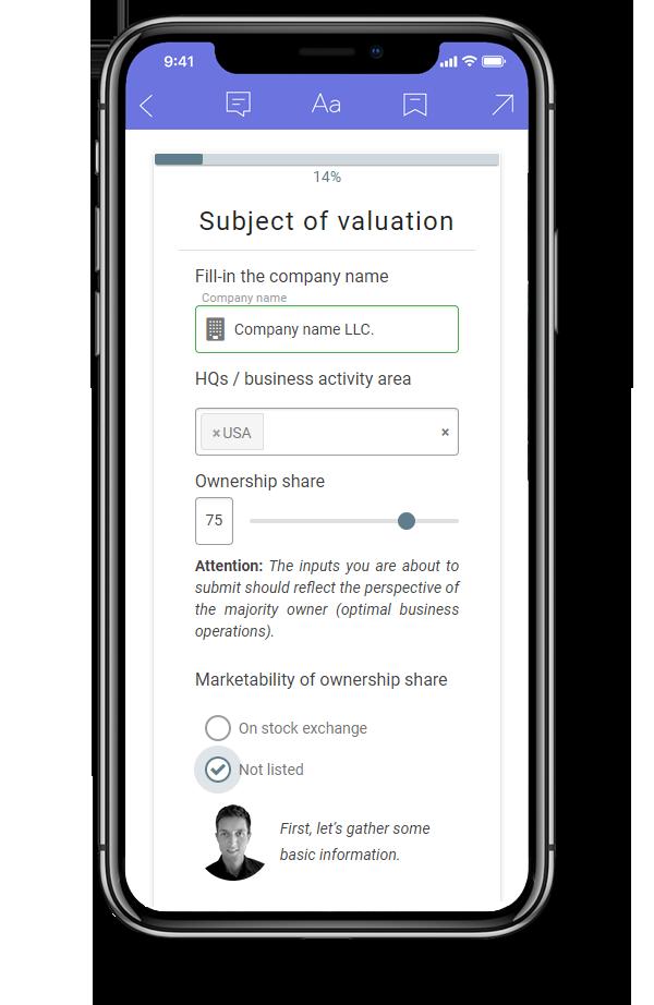 Business valuation calculator - b-appraiser